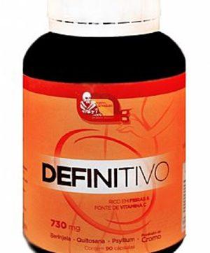 Definitivo - Rico em Fibras e Fonte de Vitamina C - 90 Cáps 730mg Mosteiro Devakan ORIGINAL