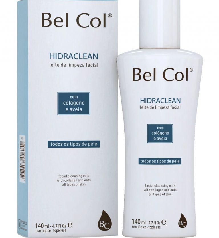 Bel-Col-Hidraclean-140ml-Leite-de-Limpeza-Facial